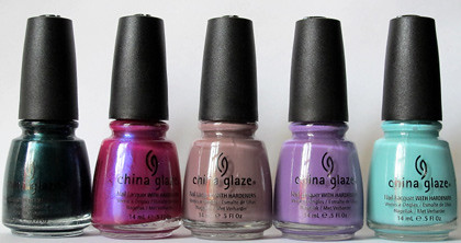 China Glaze haul