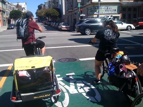 team cargo bike boxin' it