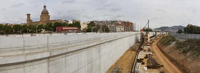 Panorámica Estació de Sant Andreu - Norte - 27-05-11