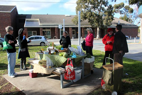 Sustainable Fawkner Food Swap 11 June 2011