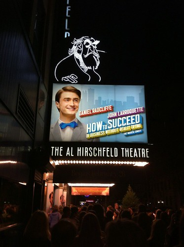 How to Succeed... revival on Broadway