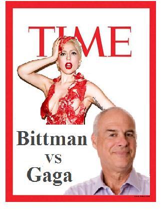 It's Bittman vs. Gaga at Time Magazine