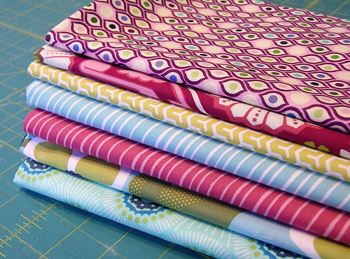 new fabric in the mail!
