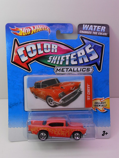 hot wheels colorchangers 1957 chevy bel air