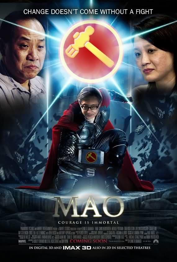 Chen Show Mao as Thor