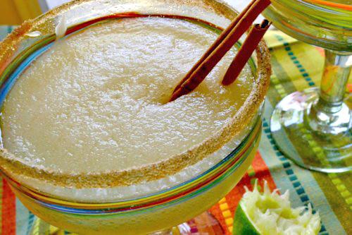 Slushy Cider Margaritas and Margarita Ice Cream