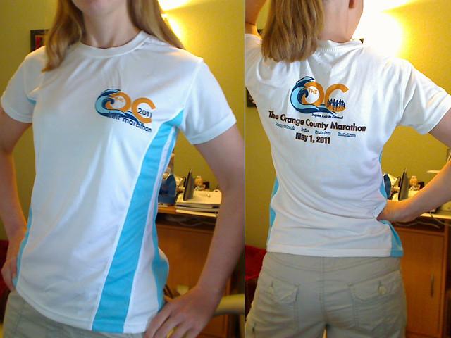 OC Half Marathon shirt