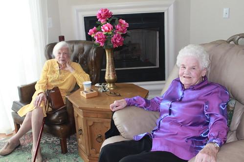 Occoquan Baby Shower - Grandma and Aunt Carolyn