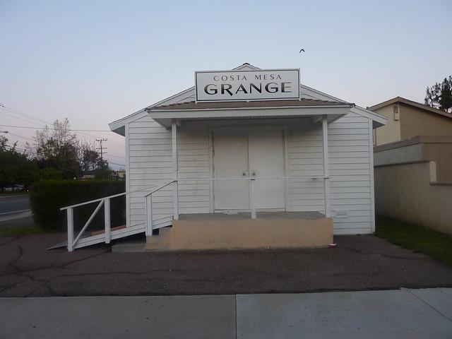 The Costa Mesa Grange