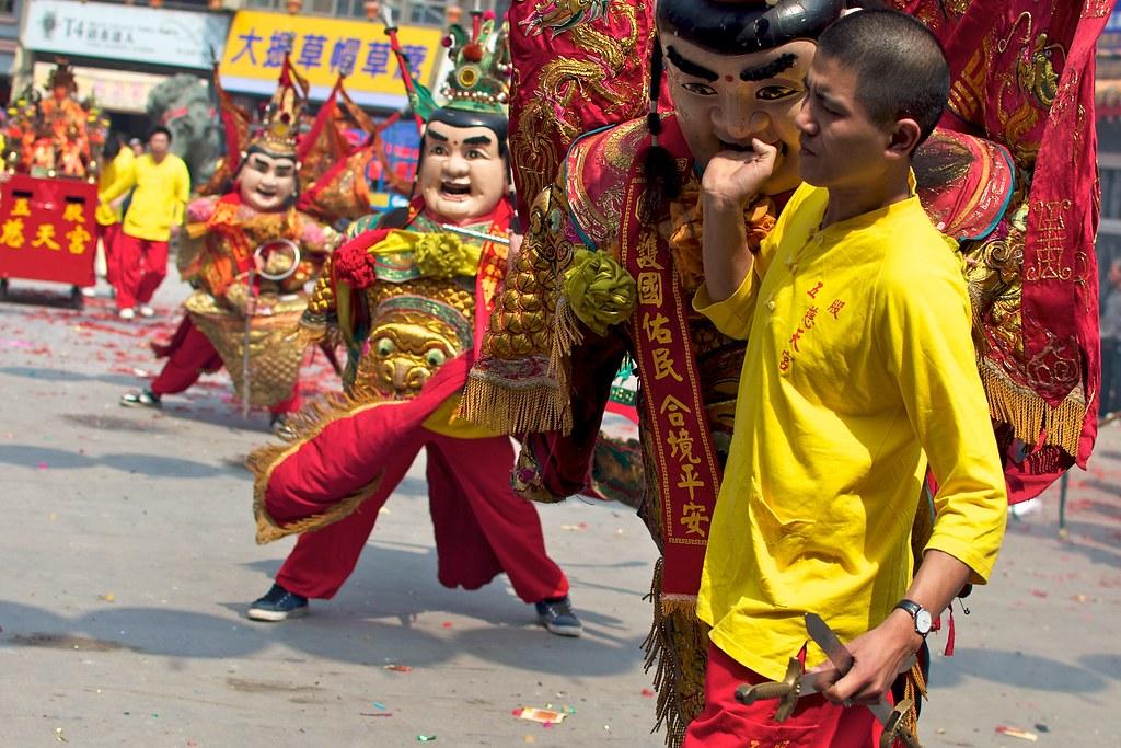 Mazu Festival: Dajia Mazu Temple, Taichung San Tai Zi 3