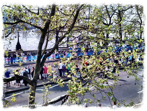 London Marathon, April 2011.