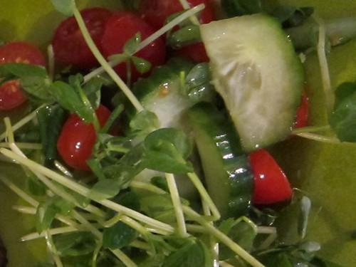 Tomato & Cumber Salad