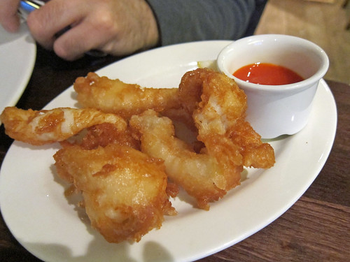 Squid Fritters with Chilli Jam