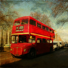Red Bus . London