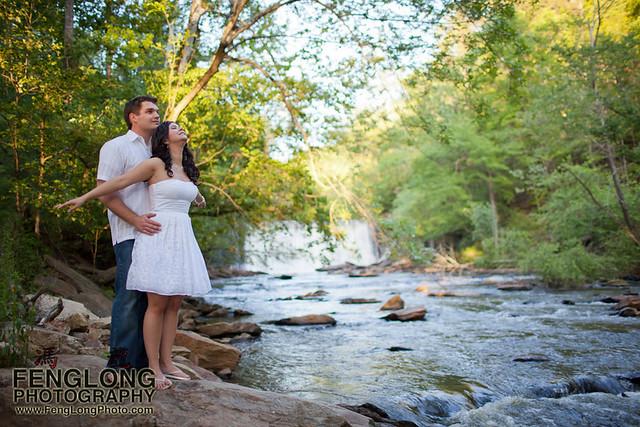 Elizabeth & Greg's Engagement Session | Smith Plantation + Roswell Mill | Atlanta Wedding Photographer