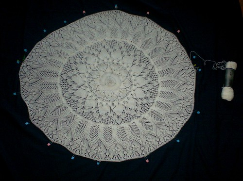 Evenstar Shawl - Clue 6 Complete