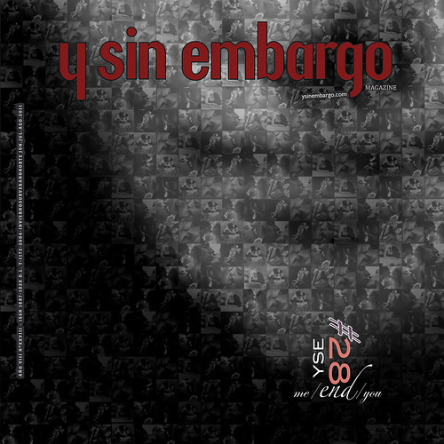 Y SIN EMBARGO magazine #28, me/END/you (new!, free, independent) by fernandoprats [ YSE #28, me/END/you ]