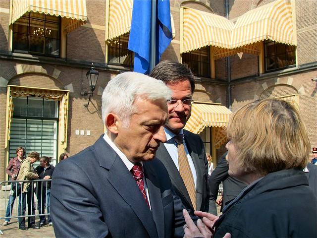 Jerzy Buzek voorzitter Europees parlement in Den Haag