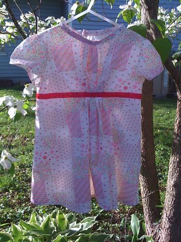 Ottobre Spring 2008: Rose Dress