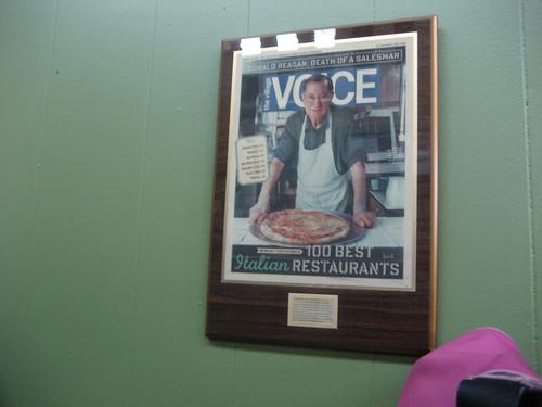 Di Fara in Village Voice