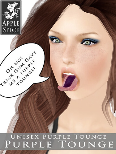 Apple Spice - Purple Tounge in HUNT
