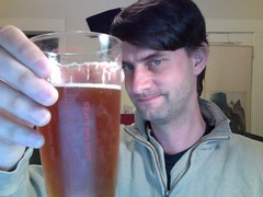 IPA with hibiscus tea