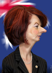 Julia Gillard - Caricature
