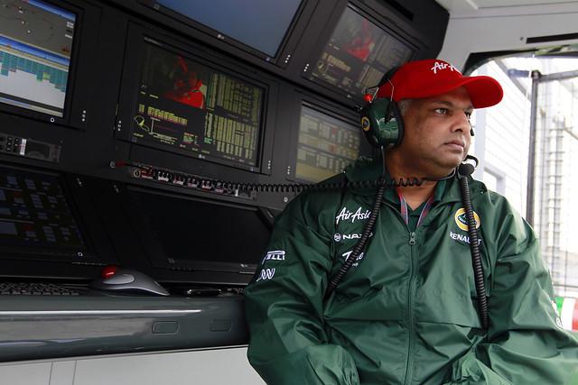 The boss - Tony Fernandes