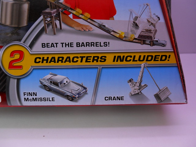 disney cars 2 barrel blow out track set (2)