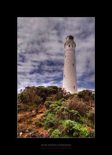 Archives_2005_to_Present #146 - Cape Leuwinn Lighthouse in Summer by kuantoh