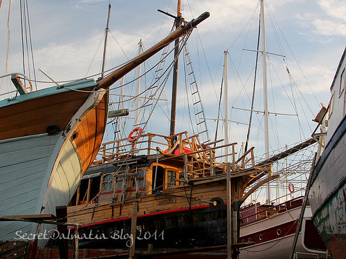 The forest of masts...on dry land