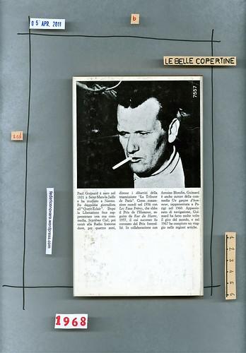 Paul Guimard, Le cose della vita: Mondadori 1968. quarta di sovracoperta