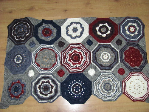 moorish mosaic afghan 50%