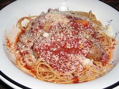 Italian Sausage-Spaghetti