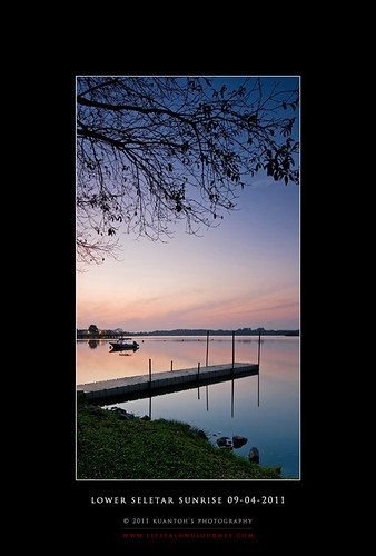 Lower Seletar Reservoir Sunrise 09-04-2011 #1