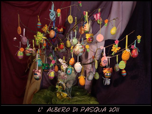 L'ALBERO DI PASQUA 2011!