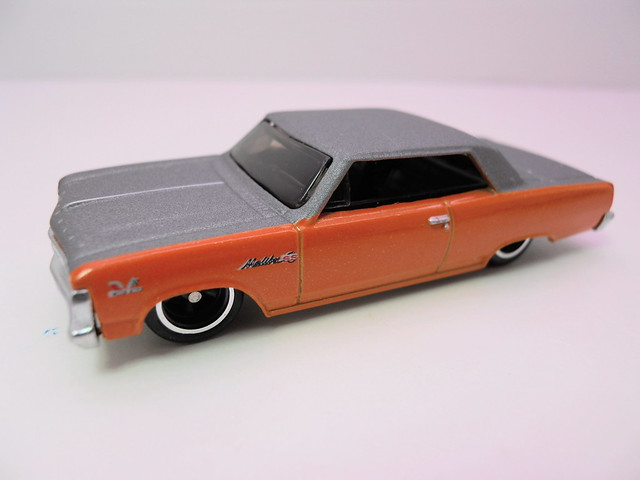 hot wheels garage '65 chevy malibu (2)