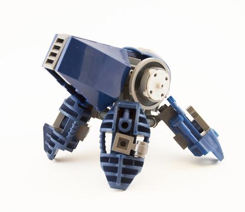 カメ-Series BattleMech (Back)