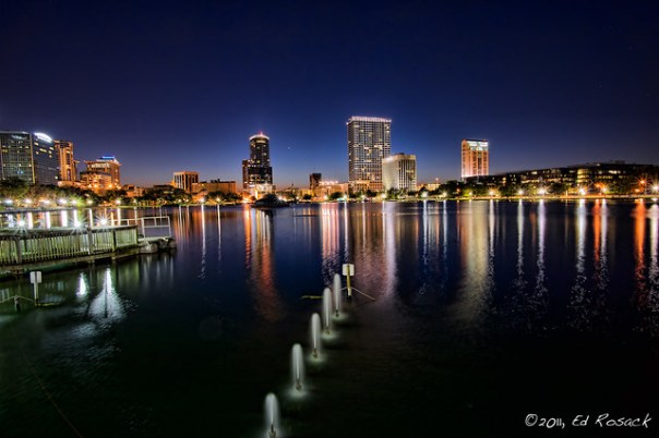 Lake Eola at Dusk
