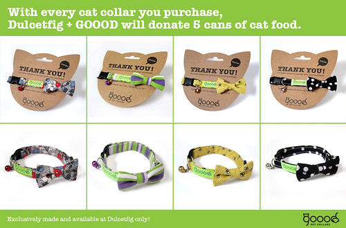 GOOOD Cat Collars Sold Exclusively At Dulcetfig