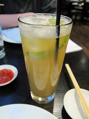 Apple and Lime Iced Tea