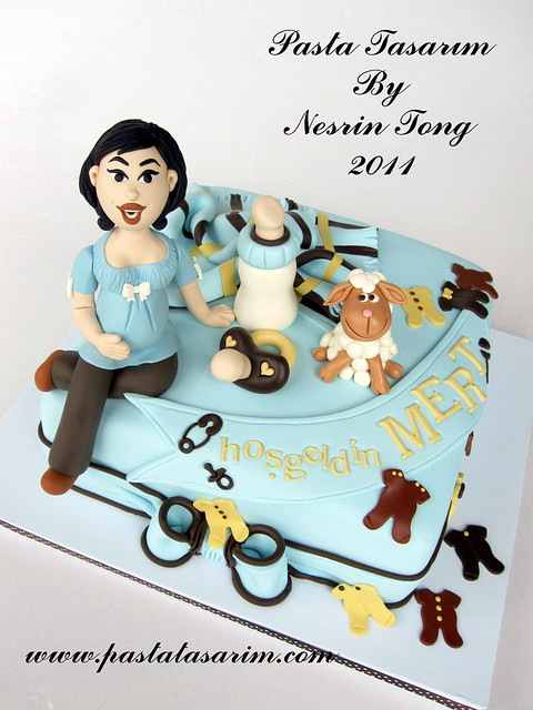 BABY SHOWER CAKE - MERT BABY