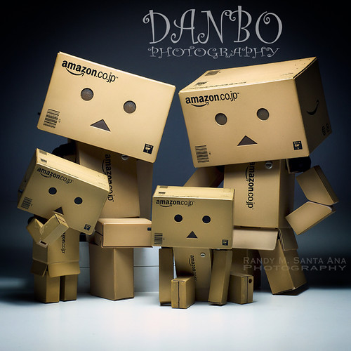 134/365:  Danbo Family Portrait Series:  All Together Now!