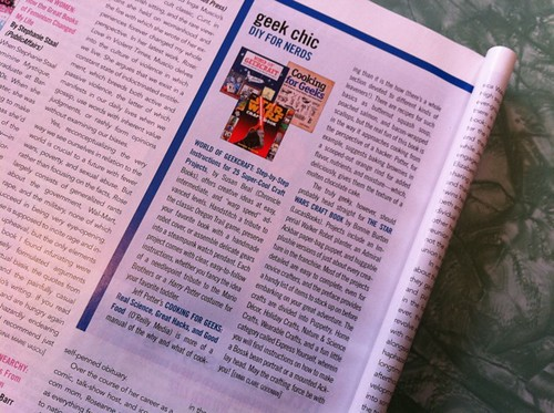 World of Geekcraft review in BUST!