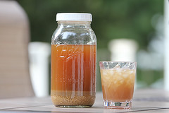 Homemade fermented Ginger Ale