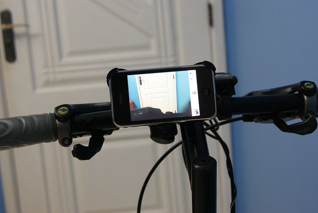 Bike hach - Action cam usando iPhone