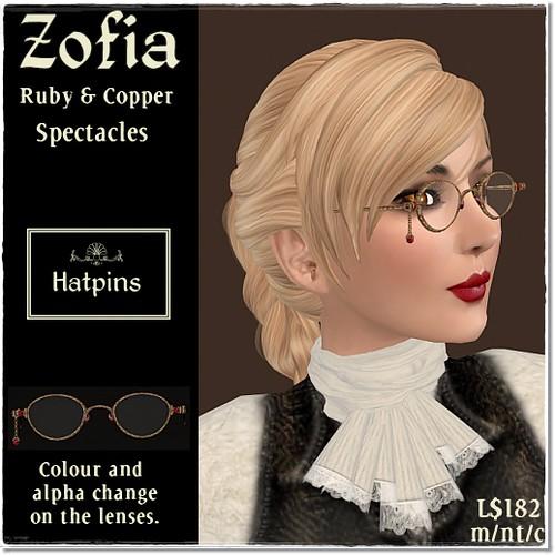 Hatpins - Zofia