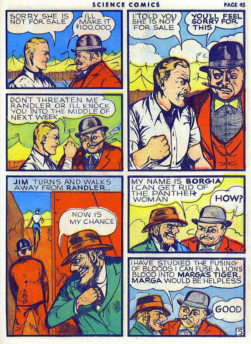 Science Comics 6 - Marga (July 1940) 05