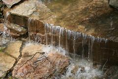 Even flow of water