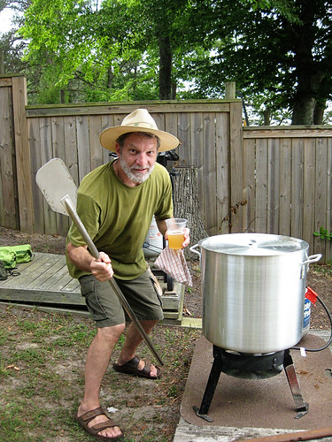 Jim at the cookout